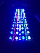 "24"" Reef aquarium custom LED light 125W Full Spectrum for SPS LPS Coral 24 hrs"