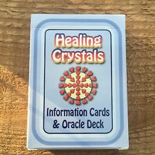 Healing Crystals 47 Gemstone Information Cards & Oracle Deck with Affirmations