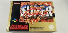 * Super Nintendo * Super Street Fighter II * RARE * PAL FAH * SNES * Boxed *