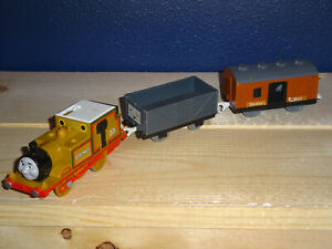 Motorized Stepney with Mail Car & Troublesome Truck Thomas & Friends Trackmaster