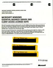 Microsoft Windows Essential Business Server 2008 15 CAL
