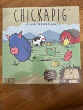 Chickapig Strategic Board Game NEW Sealed