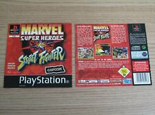 Marvel vs Street Fighter - Sony Playstation 1 / PS1 Game Covers / Artwork Only