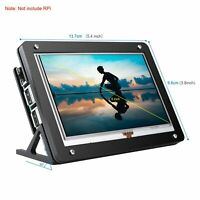 """5"""" Inch LCD 800x480 HDMI Touchscreen Display with Case Stand for Raspberry Pi"""
