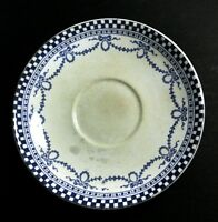 Ant. Saucer Morfenix Ware Hanley Zenith c1890 Very Rare | FREE Delivery UK*
