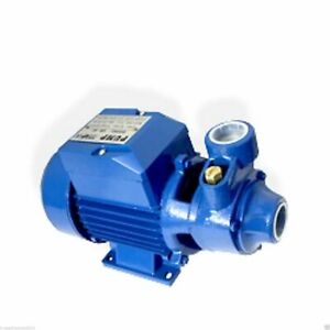 Water Pump 1/2HP Electric Clear Transfer Centrifugal Pond Pool Farm