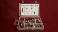 70 pcs Stainless Steel Screw Assortment