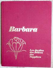 Barbara, de Bernard Montorgeuil - Tome 2 Les Jardins des Délices - 1970