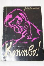 KONMBO ! JOBY BERNABE ILLUSTRE  FAROT 1978 CREOL ANTILLES