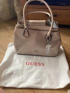 New Guess Ladies Black Handbag with Dust Bag