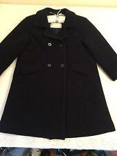 Jacadi Paris Wool Black Coat Formal Coat Girls or Boys Unisex Size 6