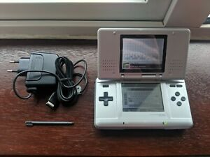 Nintendo DS Silver With Case