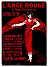 The ANGEL Red - Hanger - Carton Advertising - Dancing Food Bags - Pigalle