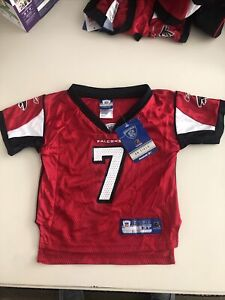 Michael Vick-Atlanta Falcons Jersey-Toddler-Red -Size 3T