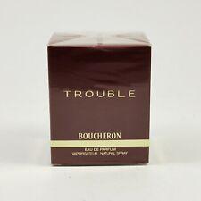 Boucheron Trouble 50ml Eau de Parfum Edp Spray Neuf / Emballage D'Origine Rare