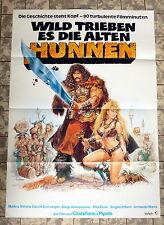 Wild trieben es die alten Hunnen * A1-FILMPOSTER - German 1-Sheet 1964 CASARO