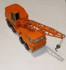 Camion grue   Matchbox  Super Kings 1971 mobile crane K-12