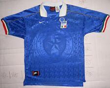 ITALIA 1995 camiseta rara Nike maglia shirt maillot camisola trikot 95 jersey
