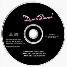 DURAN DURAN White Lines UK 3 Track DJ Promo Only CD