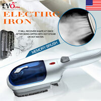 2018 Portable Handheld Fabric Steam Laundry Clothes Electric Steamer Brush