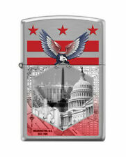 BRIQUET ZIPPO NEUF - CAPITOLE WASHINGTON DC ( Original , Tempete , Collection )