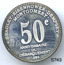 5743 - MEDAILLE OPERATION OVERLORD 6 JUIN 1944