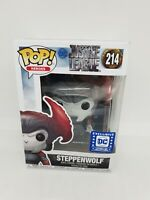 Funko Pop Steppenwolf #214 Exclusive DC legions of collectors rare vinyl figure