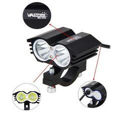 12V-36V 30W 3000LM 2x XM-L T6 LED Motorcycle Spot Work Light Offroad Driving Fog