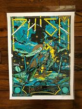Tyler Stout Phish Commerce City Denver print green 2012 Dick's gig poster art