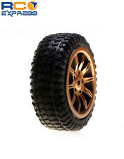 Losi Tires Mounted Gold: Micro Rally (4) LOSB1586