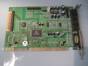 Sound Card, OPTi 82C931 019641 01CE, ISA Slot 16-Bit Sound Card