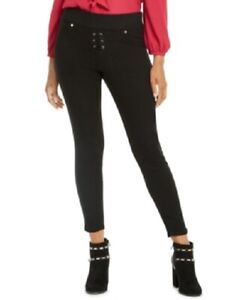 Thalia Sodi Women/'s /'Snap-Stud Jeggings Created for Macy/'s/' Light Wash Size XXL