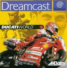 SEGA DREAMCAST GIOCO-Ducati World (con imballo originale)