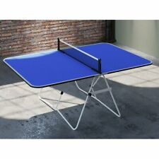 Foldable Portable Table Tennis Ping Pong Table Camping Picnic Game Room Sports