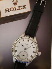 Vintage ROLEX pocket watch movement - SILVER CASE