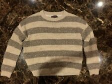 Girls Juicy Couture sweater size 8 gold color fancy slightly used