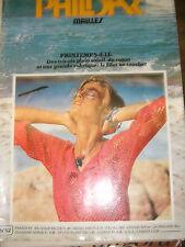 Phildar Mailles N°52 Printemps Eté Tricot soleil coton Filet au crochet Laine