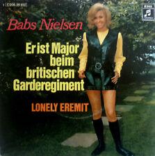 "7"" 1972 MINT- ! BABS NIELSEN : Er ist Major beim britischen Garderegiment"