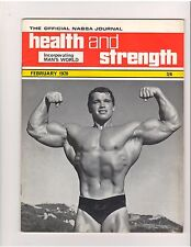 Health and Strength Bodybuilding Magazine/Arnold Schwarzenegger 2-70 vol 99 #2