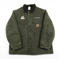 VGC Vintage CARHARTT Quilted Chore Jacket | Men's XL | Coat Canvas Duck Detroit