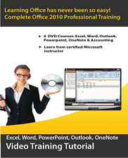 Learn Microsoft Office 2010  - DVD Video Training Courses