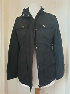 ROHAN Size S Ladies Black Assignment Jacket- Pockets, Sun Protection, Outdoors