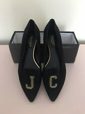 Juicy Couture Suede Loafers Size 4