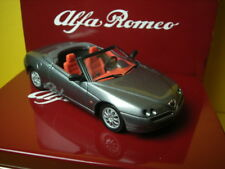 1/43 Alfa Romeo Spider Gray 1995 Solido Cofanetto in Latta Tin Box