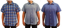 NEW English Laundry Men's Linen Blend Short Sleeve Shirt - XL / XXL