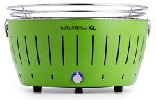 Lotusgrill XL verde Lima libre de humo asador a Carbón Vegetal/barbacoa mesa