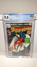 CGC 9.0 MARVEL SPIDER WOMAN #1 4/78