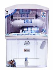 Ozean Gold 12 ltr RO+UV+UF+Mineral+TDS Controller Water Purifier(Transparent)