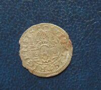 LIVONIA Lettland Free city Riga Shilling Ferding 1575 Silver Medieval