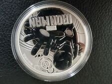 1 oz SILVER BULLION .9999 TUVALU PERTH MINT IRON MAN!